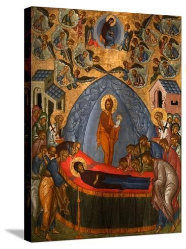 The Dormition of the Virgin, 15th Century--Stretched Canvas Print