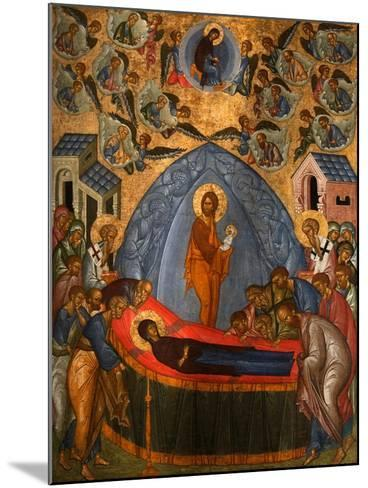 The Dormition of the Virgin, 15th Century--Mounted Giclee Print