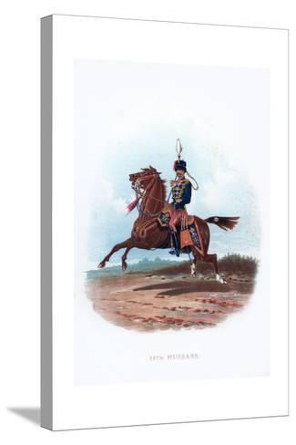 11th Hussars, 1889--Stretched Canvas Print
