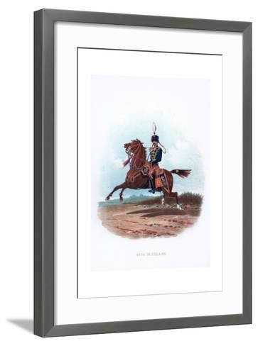 11th Hussars, 1889--Framed Art Print