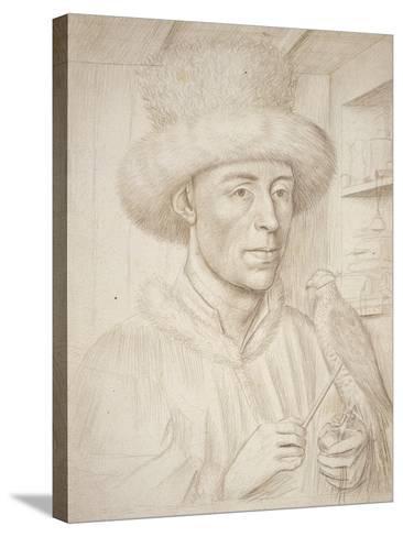 The Falconer-Petrus Christus-Stretched Canvas Print