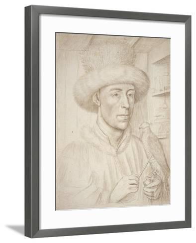 The Falconer-Petrus Christus-Framed Art Print