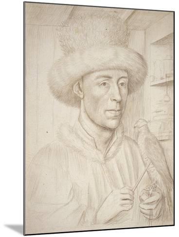 The Falconer-Petrus Christus-Mounted Giclee Print