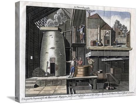 A Brewhouse, 1747--Stretched Canvas Print