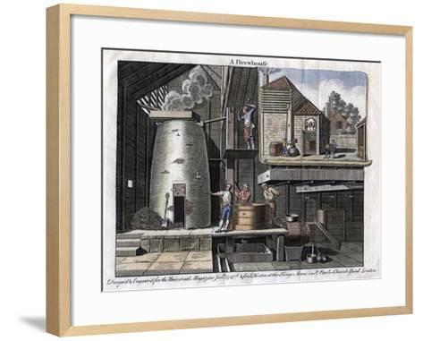 A Brewhouse, 1747--Framed Art Print