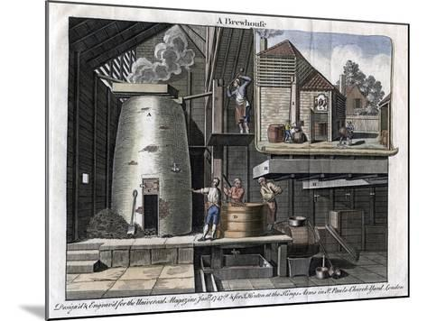 A Brewhouse, 1747--Mounted Giclee Print