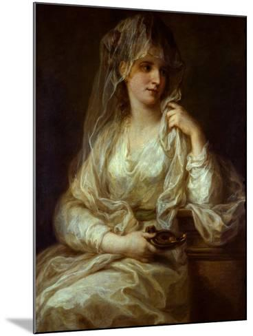 Portrait of a Lady as a Vestal Virgin, 1782-Angelika Kauffmann-Mounted Giclee Print