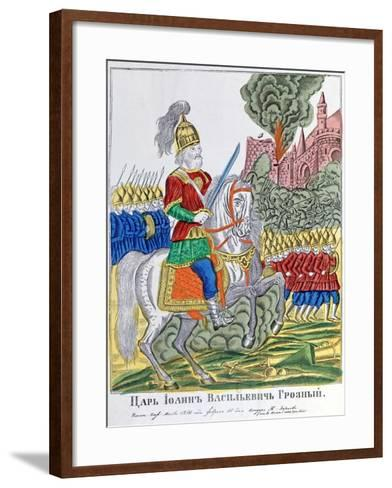 Advancing Army, 1850--Framed Art Print