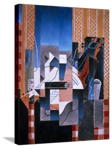 Violin and Guitar, 1913-Juan Gris-Stretched Canvas Print