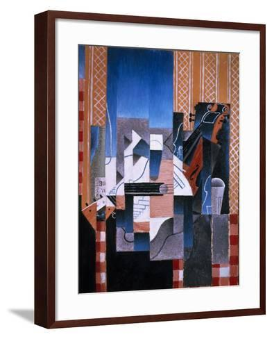 Violin and Guitar, 1913-Juan Gris-Framed Art Print