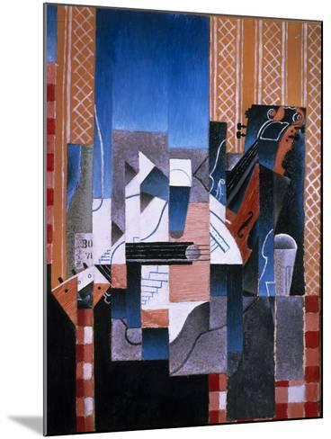 Violin and Guitar, 1913-Juan Gris-Mounted Giclee Print
