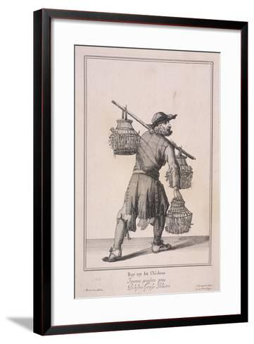 Buy My Fat Chickens, Cries of London, 1688-Marcellus Laroon-Framed Art Print