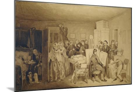 The Consequences of Fidelka's Death, 1844-Pavel Andreyevich Fedotov-Mounted Giclee Print