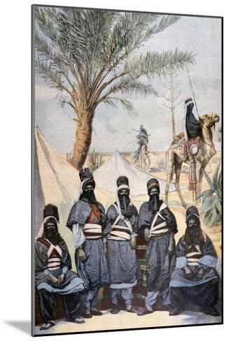 The Tuareg Caravan at the Winter Velodrome, Paris, 1894--Mounted Giclee Print