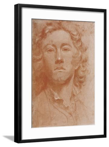 Sir Joshua Reynolds, 1750-John Astley-Framed Art Print