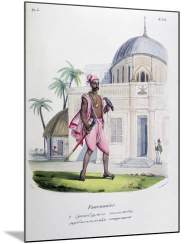 Falconer, 1828- Marlet et Cie-Mounted Giclee Print