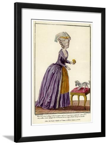French Fashion During the Reign of Louis XVI, 1938--Framed Art Print