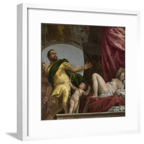 Respect (From Four Allegories of Lov), Ca. 1575-Paolo Veronese-Framed Art Print