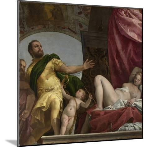 Respect (From Four Allegories of Lov), Ca. 1575-Paolo Veronese-Mounted Giclee Print