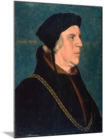 Portrait of Sir William Butts, 1543-Hans Holbein the Younger-Mounted Giclee Print