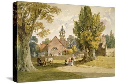 St Peter's Church, Petersham, Surrey, 1820--Stretched Canvas Print