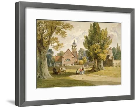 St Peter's Church, Petersham, Surrey, 1820--Framed Art Print