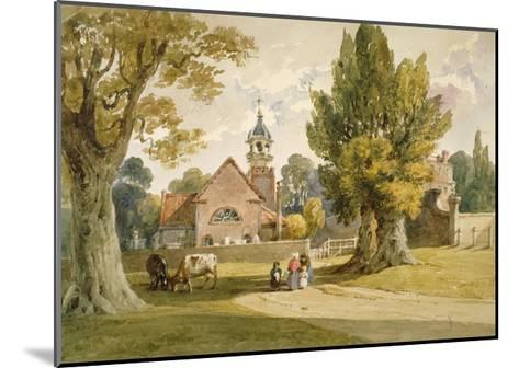 St Peter's Church, Petersham, Surrey, 1820--Mounted Giclee Print