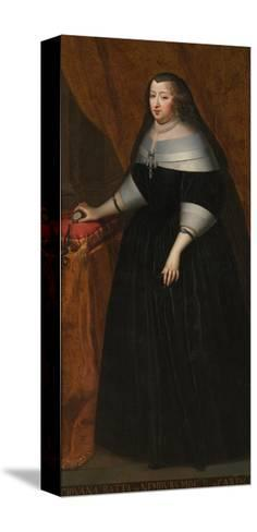 Marie Jeanne Baptiste (1644-172), Duchess of Savoy--Stretched Canvas Print