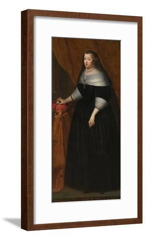 Marie Jeanne Baptiste (1644-172), Duchess of Savoy--Framed Art Print