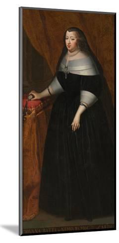 Marie Jeanne Baptiste (1644-172), Duchess of Savoy--Mounted Giclee Print