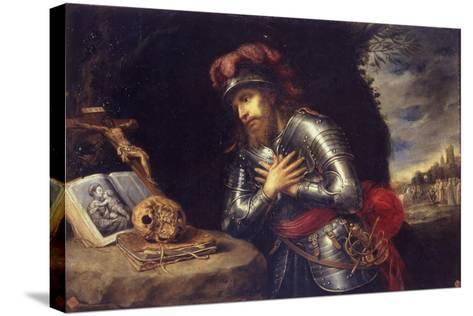 Saint William of Gellone-Antonio De Pereda Y Salgado-Stretched Canvas Print