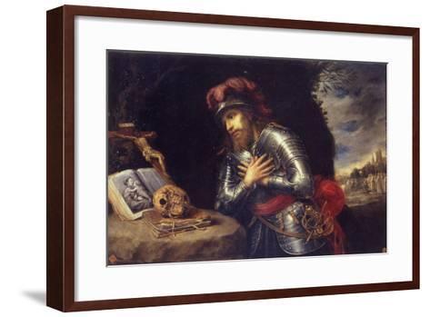 Saint William of Gellone-Antonio De Pereda Y Salgado-Framed Art Print