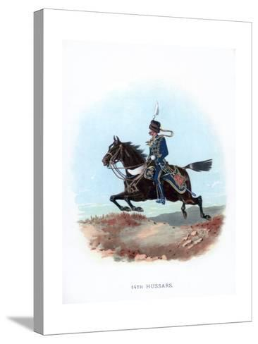 14th Hussars, 1889--Stretched Canvas Print