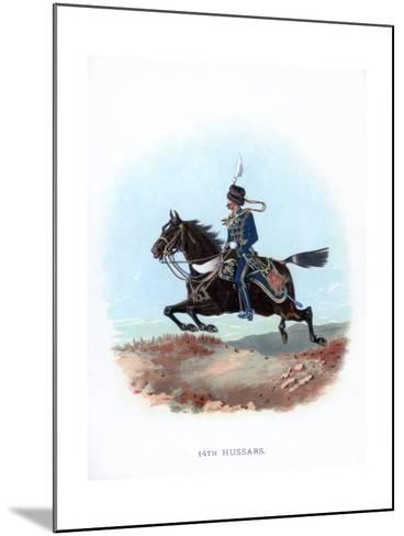 14th Hussars, 1889--Mounted Giclee Print