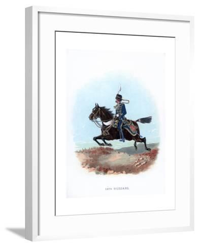 14th Hussars, 1889--Framed Art Print