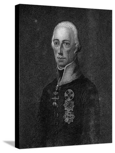 Francis II, Holy Roman Emperor, 1814--Stretched Canvas Print