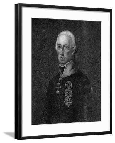 Francis II, Holy Roman Emperor, 1814--Framed Art Print