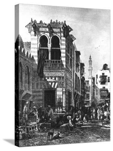 Popular Schools in the Heart of Cairo, Egypt, 1880--Stretched Canvas Print