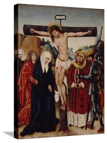 The Crucifixion, Early16th C--Stretched Canvas Print