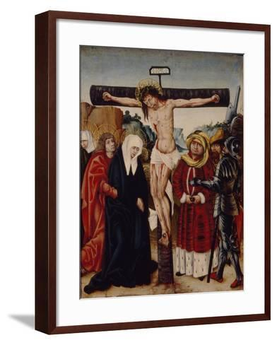 The Crucifixion, Early16th C--Framed Art Print