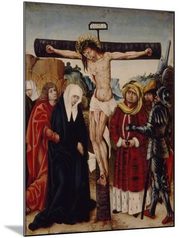 The Crucifixion, Early16th C--Mounted Giclee Print