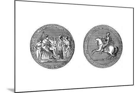 The Great Seal of King George IV, C1895--Mounted Giclee Print