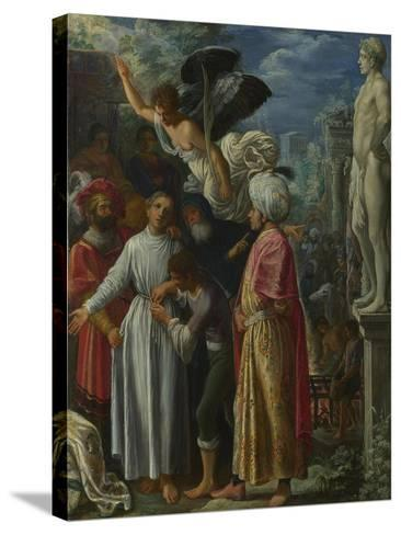Saint Lawrence Prepared for Martyrdom, Ca 1601-Adam Elsheimer-Stretched Canvas Print