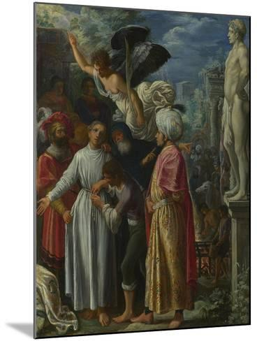 Saint Lawrence Prepared for Martyrdom, Ca 1601-Adam Elsheimer-Mounted Giclee Print
