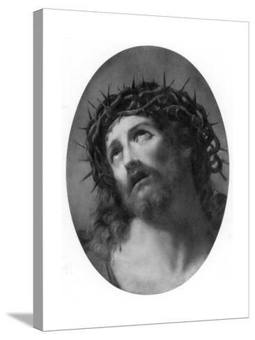 Christ Crowned with Thorns-Guido Reni-Stretched Canvas Print
