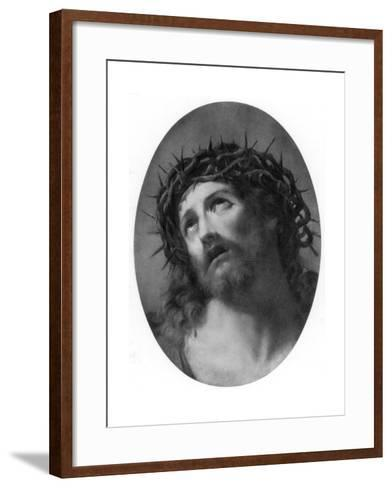 Christ Crowned with Thorns-Guido Reni-Framed Art Print