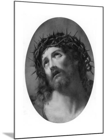 Christ Crowned with Thorns-Guido Reni-Mounted Giclee Print