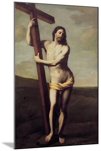 Christ Embracing the Cross-Guido Reni-Mounted Giclee Print