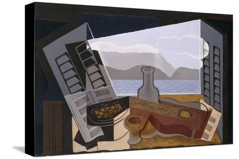The Open Window, 1921-Juan Gris-Stretched Canvas Print
