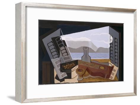 The Open Window, 1921-Juan Gris-Framed Art Print